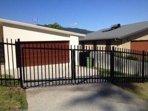 Aluminium Picket Fencing and Gates