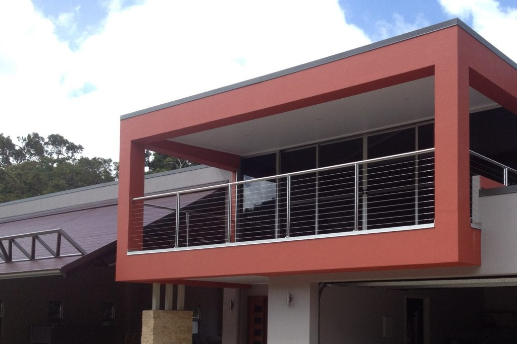 Stainless Steel Horizontal Wire Balustrade