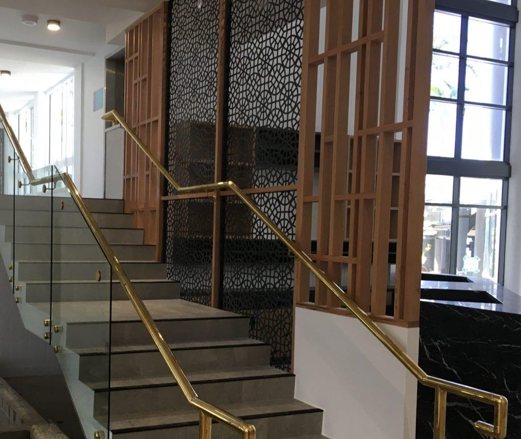 Daydream Island Brass Stairs 3